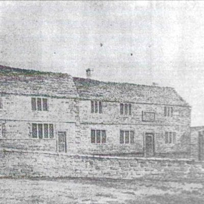 The Oken and Eyffler Almshouses in Castle Hill in olden times