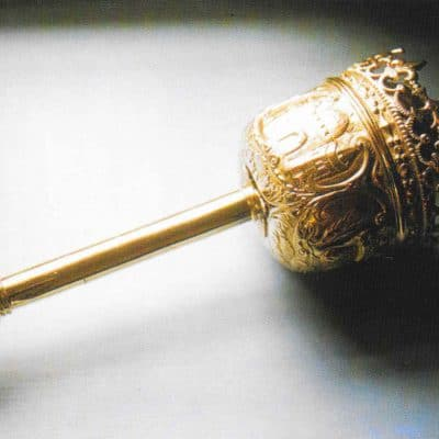Oken's Mace still carried by the Assistant Serjeant-at-Arms